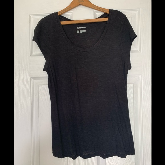 INC International Concepts Tops - Petite INC Black Top